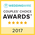 Masterful Musicians WeddingWire Couples Choice Award Winner 2017