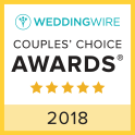 Masterful Musicians WeddingWire Couples Choice Award Winner 2018